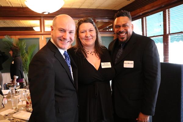 Michael Weber, Denise Karczewski,  Daryl Brooks Photo