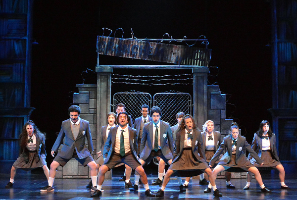 "The ensemble of 5-Star Theatricals regional theatre premiere of �""ROALD DAHL'S MATILDA THE MUSICAL"