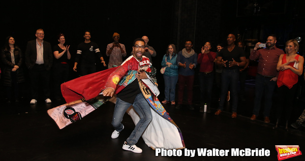 Photo Coverage: E. Clayton Cornelious Receives the Legacy Robe For AIN'T TOO PROUD