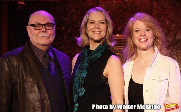 Mark Hummel, Rebecca Luker and Deborah Grace Winer  Photo