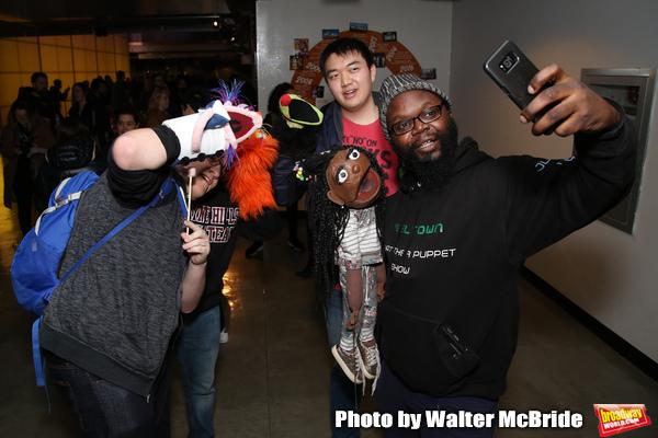 Photo Coverage: AVENUE Q Celebrates World Puppetry Day