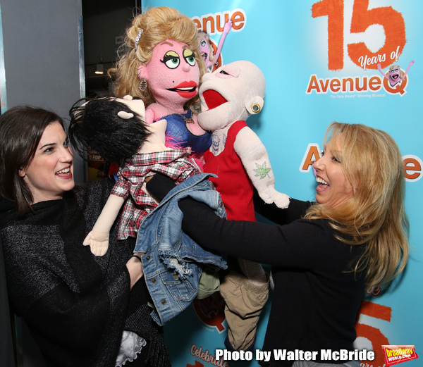Veronica J. Kuehn with Avenue Q & Puppetry Fans Photo