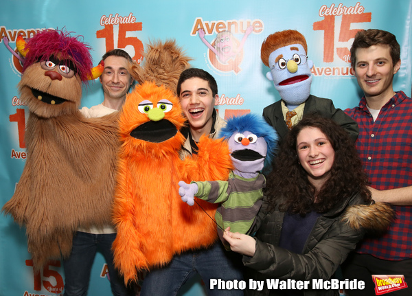 Jason Jacoby and Matt Dengler with Avenue Q & Puppetry Fans