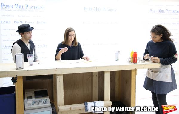 Bryce Pinkham, Hannah Elless and Tatiana Wechsler  Photo