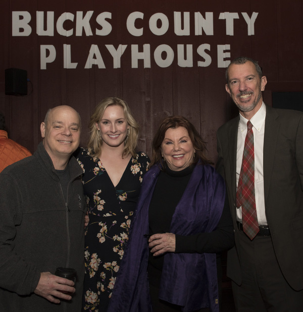 Photo Flash: Inside Bucks Cty. Playhouse Play Reading of THE TORCH-BEARERS
