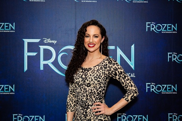 Photo Coverage: FROZEN Cast Celebrates One Year on Broadway!