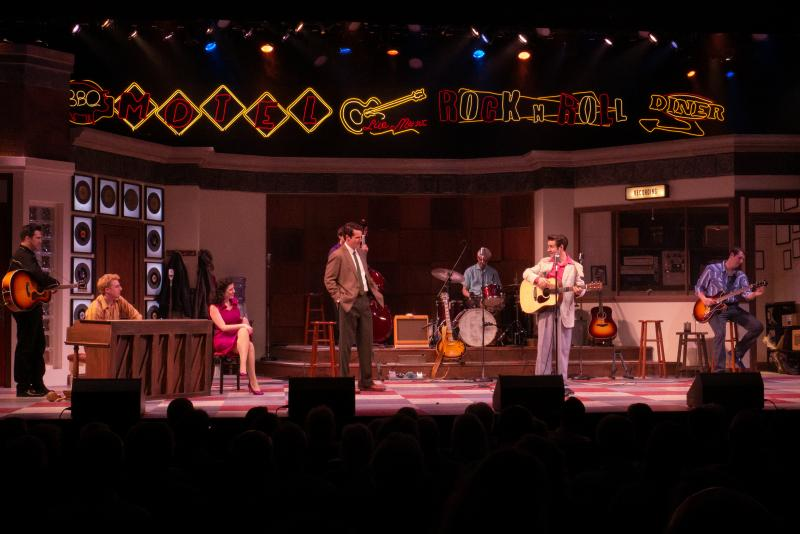 BWW Review: MILLION DOLLAR QUARTET at Florida Rep is Refreshing and Rhythmic!