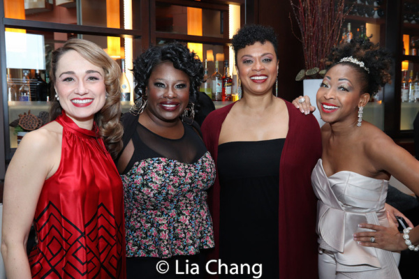 Photo Flash: Andre De Shields Celebrates Closing Night Of SOPHISTICATED LADIES