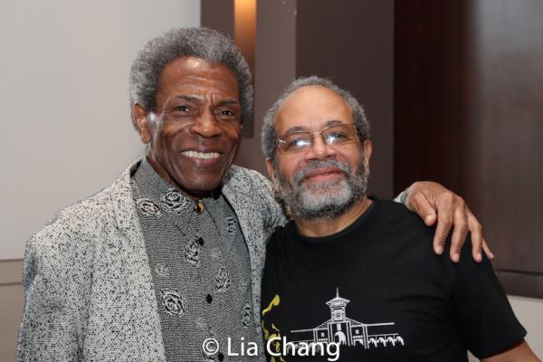 Director Andre De Shields and Musical Director Nat Adderley, Jr.