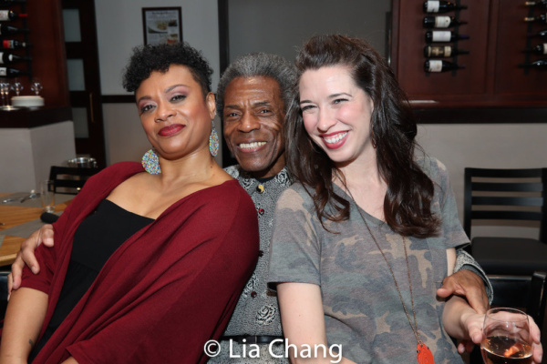 Jacqueline B. Arnold, Director Andre De Shields and Danielle Kelsey Photo
