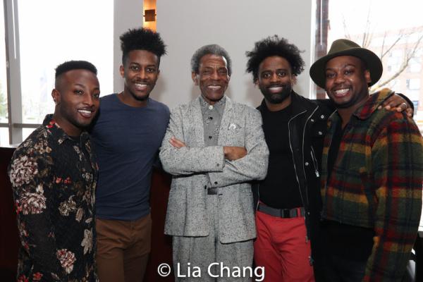 Wesley J. Barnes, Lamont Brown, Director Andre De Shields, C.K. Edwards and Tommy Scr Photo