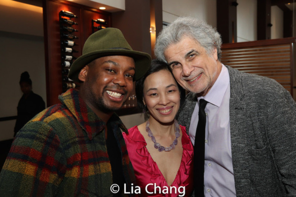 Tommy Scrivens, Lia Chang and Assistant Director Jim Mirrione