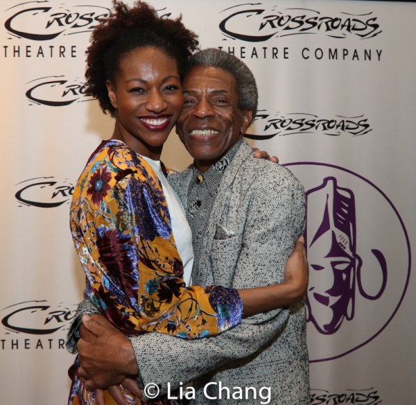 Jenny Laroche and Director Andre De Shields Photo