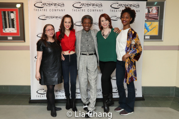 Costume Designer Gail Brassard, Kaleigh Cronin, Director Andre De Shields, Choreograp Photo