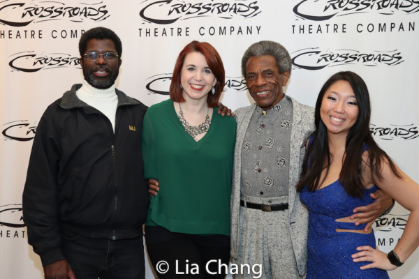 Crossroads Theatre Company Producing Artistic Director Marshall Jones, III, Choreographer Kimberly Schafer, Director Andre De Shields, Associate Producer Kayla Kim Votapek