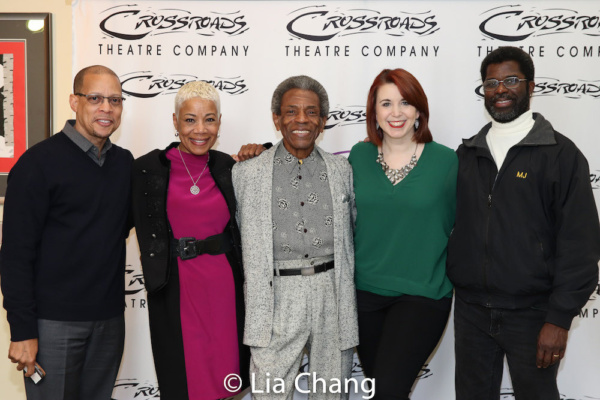 Crossroads Theatre Company Board President Anthony P. Carter, Board Member Susan Settles, Director Andre De Shields, Choreographer Kimberly Shafer and Producing Artistic Director Marshall Jones, III