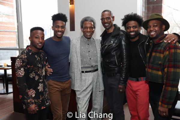 Wesley J. Barnes, Lamont Brown, Andre De Shields, Ken Ard, C.K. Edwards and Tommy Scr Photo