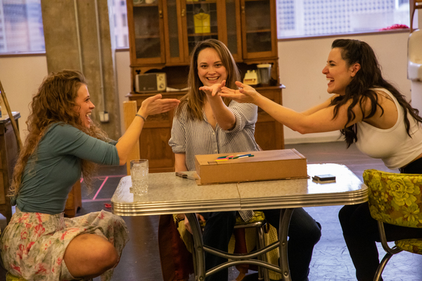 Photo Flash: In Rehearsal With CRIMES OF THE HEART at Alley Theatre