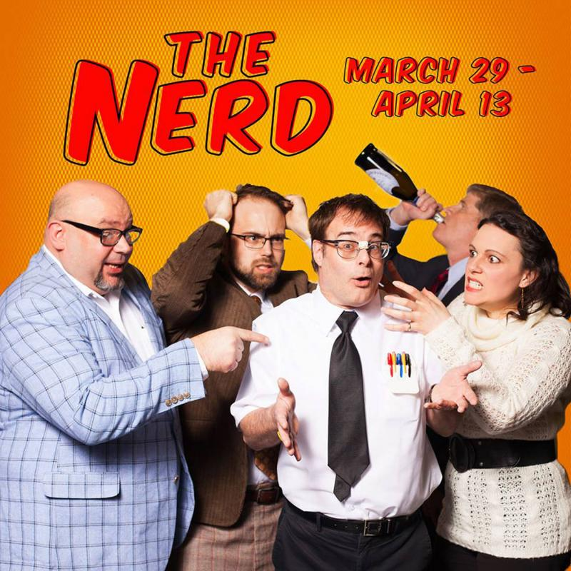 Next Up at Arts Center of Cannon County: Larry Shue's THE NERD