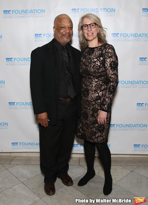 Sheldon Epps and Laura Penn Photo
