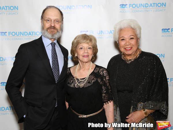 David Hyde Pierce, Victoria Traube and Joy Abbott  Photo