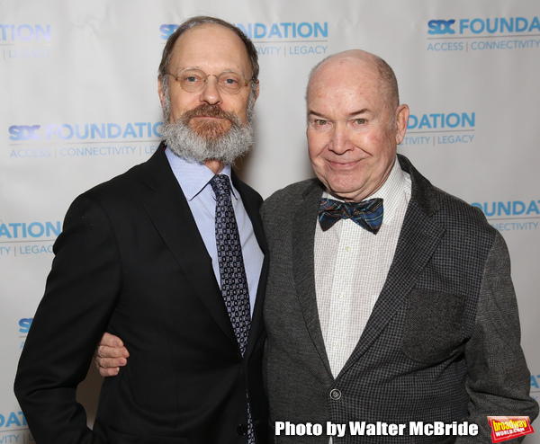 """David Hyde Pierce and Jack O'Brien during The """"Mr. Abbott"""" Award 2019 at The M Photo"""