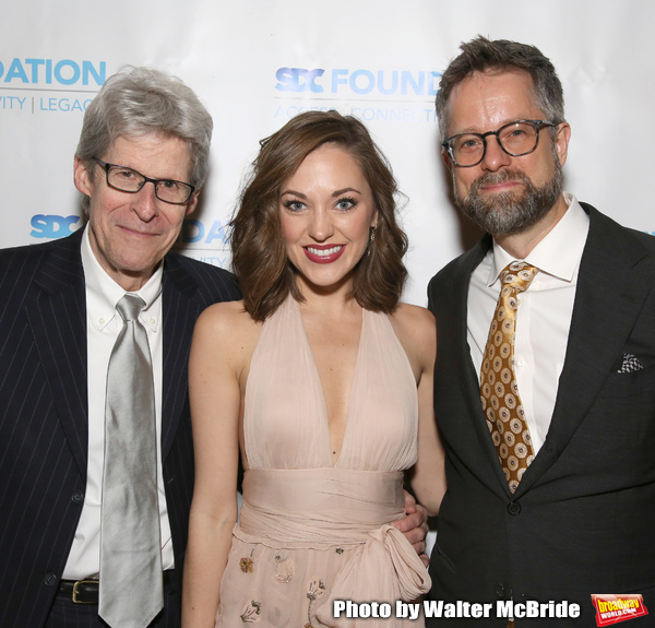 Ted Chapin, Laura Osnes and Fred Lassen