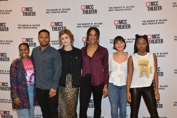 The Cast-Paige Gilbert, Chris Myers, Marie Botha, Antoinette Crowe-Legacy, Coral Pena and Alfie Fuller