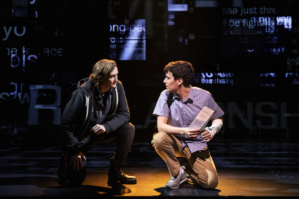 Sean Patrick Dolan and Robert Markus in DEAR EVAN HANSEN  Photo