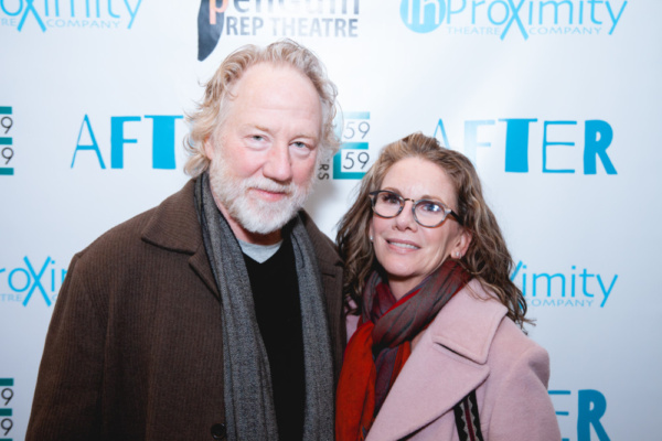 Timothy Busfield and Melissa Gilbert. Photo credit: NMX Photo