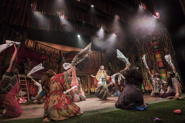 Photo Flash: First Look At The UK Tour of HAIR