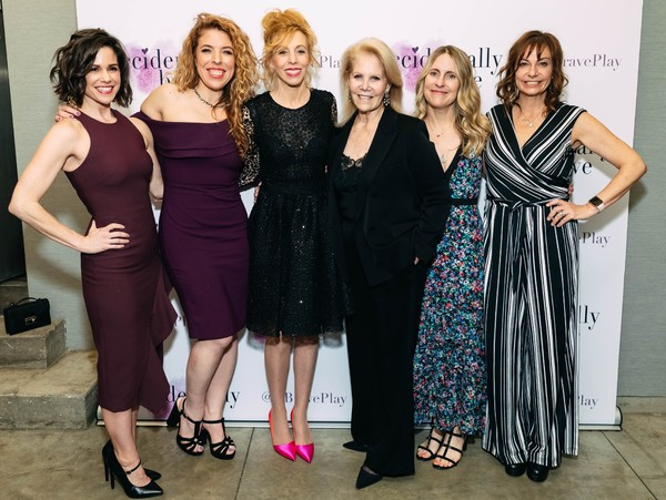 Natalie Roy, Kristin Hanggi, Maddie Corman, Daryl Roth, Lindsey Strasberg, Beth Wishnie