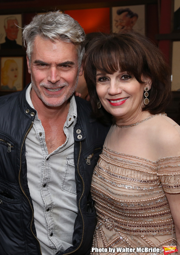 Troy Britton Johnson and Beth Leavel