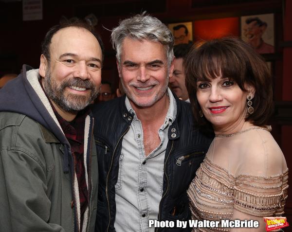 Danny Burstein, Troy Britton Johnson and Beth Leavel  Photo