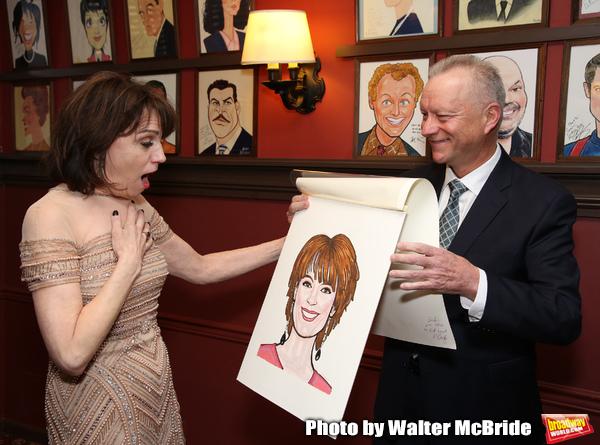 Photo Coverage: Sardi's Unveils Portrait of THE PROM Star Beth Leavel!