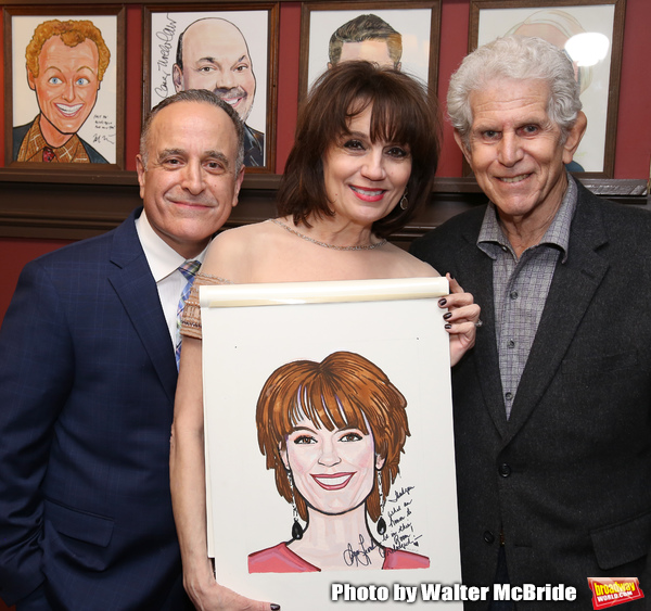 Adam Heller, Beth Leavel and Tony Roberts Photo