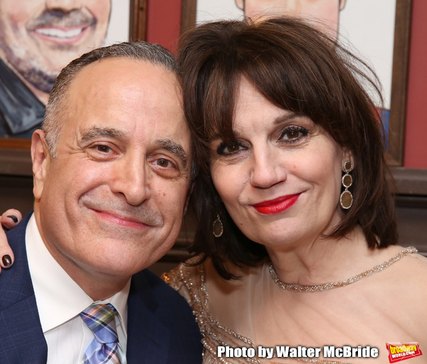 Adam Heller and Beth Leavel Photo