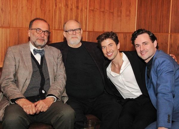 Arthur Salvadore, William Finn, Nick Adams and Max von Essen