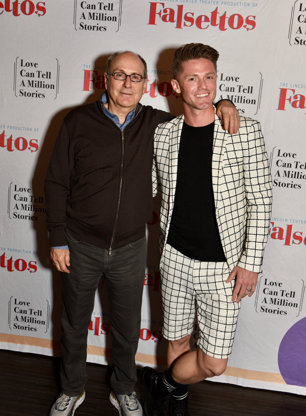 James Lapine and Spencer Liff Photo