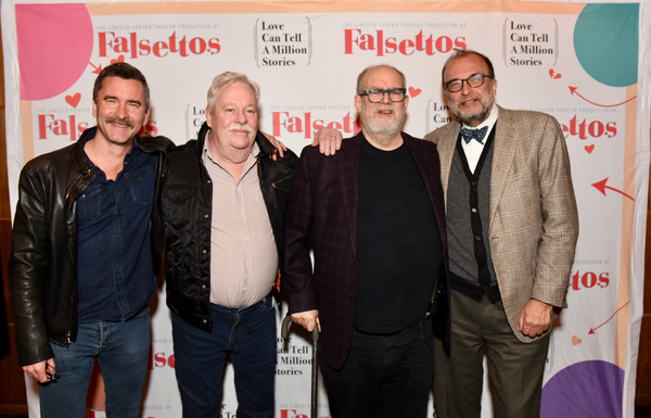 Christopher Turner, Armistead Maupin, William Finn and Arthur Salvadore