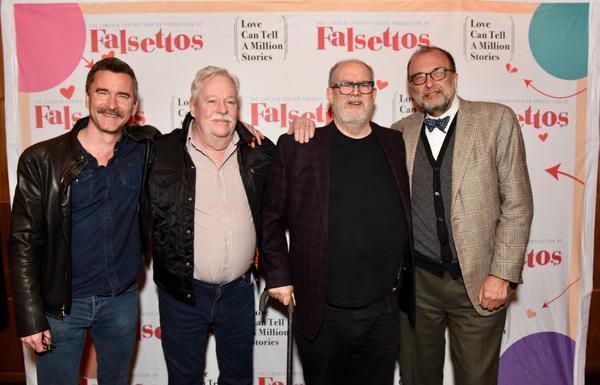 Christopher Turner, Armistead Maupin, William Finn and Arthur Salvadore Photo
