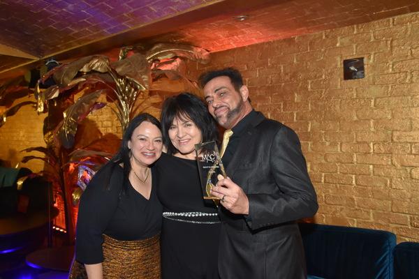 Julie Miller, Lina Koutrkos and Marcus Simeone