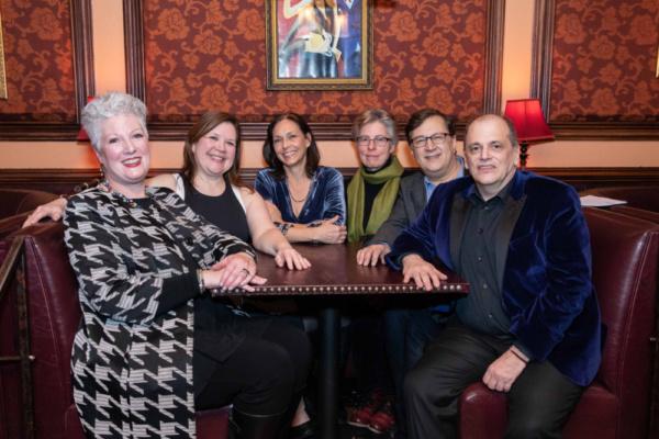Julie Hennrikus, Candida Fink, Amy Gauger, Jo-Ann Berry, Todd Ellison and John Minnoc Photo