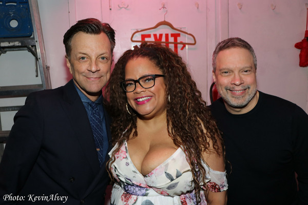 Jim Caruso, Natalie Douglas, Billy Joe Young Photo