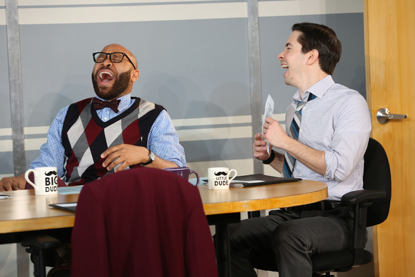 Ugo Chukwu, Justin Long. Photo credit: Carol Rosegg