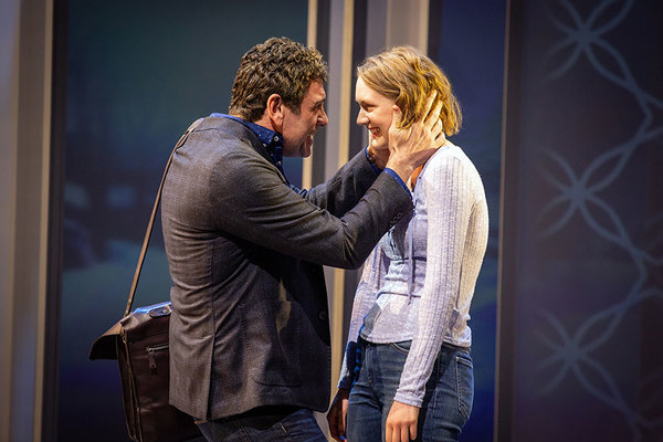 Bradley Dean as Frank Carter and Sophie Hearn as Alice Carter Photo