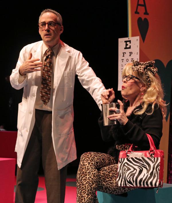 Mark Rubin as Vinnie and Lynne McGhee as Rita