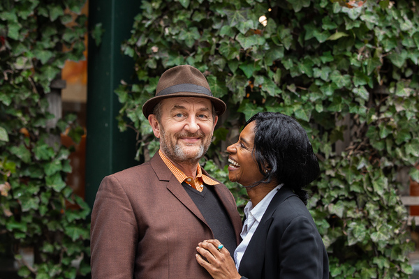 Ralph Brown and Jenny Jules Photo