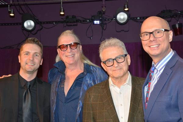 Clint Edwards, Rob Abel, Paul Kreppel and Richie Ridge