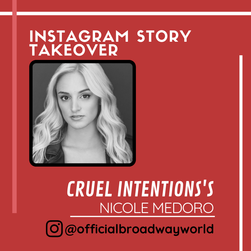 CRUEL INTENTION's Nicole Medoro Takes Over Instagram Tomorrow!